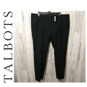 Talbots NWT Newport navy pants 16W
